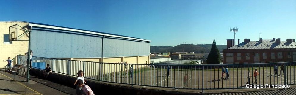 Vista del Polideportivo